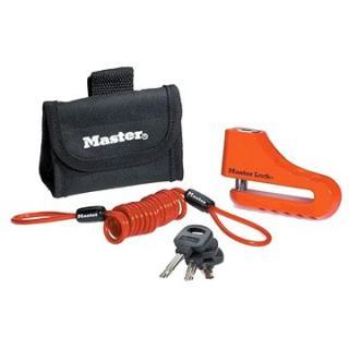 MasterLock 8304EURDPS Zámok kotúčovej brzdy s puzdrom – 104 mm