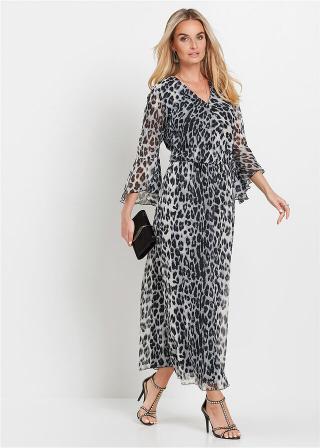 Maxi  šaty dámské béžová 36,38,40,42,44,46,48,50,52,54