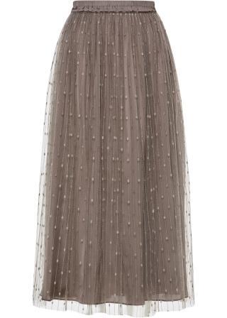 Maxi sukňa dámské šedá 42,36,38,40,44,46,48,50,52,54
