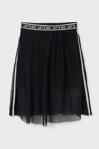 Mayoral - Dievčenská sukňa 128-167 cm čierna 128