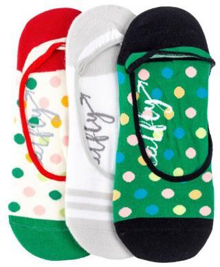 Meatfly 3 PACK - dámske ponožky Low socks S19 K / Green