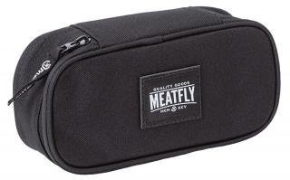 Meatfly Peračník Pencil Case 2 A-Black