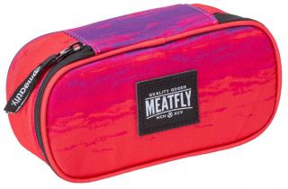 Meatfly Peračník Pencil Case 2 F-Ambient Pink