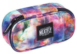 Meatfly Peračník Pencil Case Universe Color