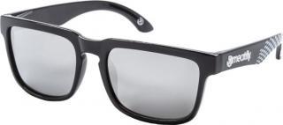 Meatfly Slnečné okuliare Memphis 2 E - Black, White pánské
