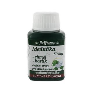 MedPharma Medovka 50 mg   chmeľ   valeriána 30 tbl.   7 tbl. ZD ARMA