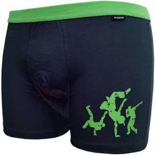 Men's boxers Andrie dark gray  pánské Neurčeno XL