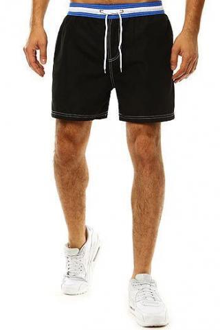 Mens black bathing shorts SX2042 pánské Neurčeno M