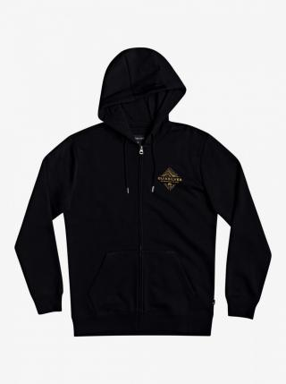 Mens hoodie QUIKSILVER BEFORE LIGHT pánské Black L