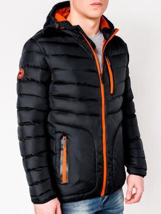 Mens jacket Ombre C356 pánské Black XL