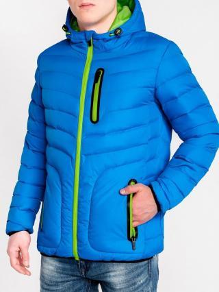 Mens jacket Ombre C356 pánské Blue L