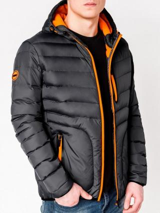 Mens jacket Ombre C356 pánské Graphite | DARK GREY L