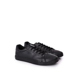 Mens Leather Sneakers Big Star HH174035 Black pánské Other 41