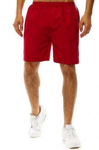 Mens swimming shorts burgundy SX2013 pánské Neurčeno M