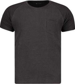 Mens t-shirt Ombre S1182 pánské Black S