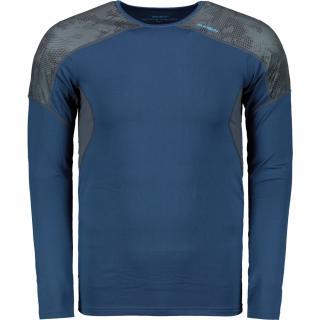 Mens thermo T-Shirt HUSKY ACTIVE WINTER TRIKO DL - M modrá L