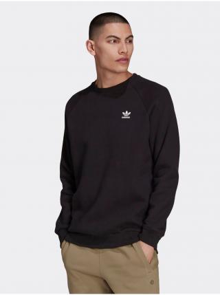 Mikiny bez kapuce pre mužov adidas Originals - čierna pánské M
