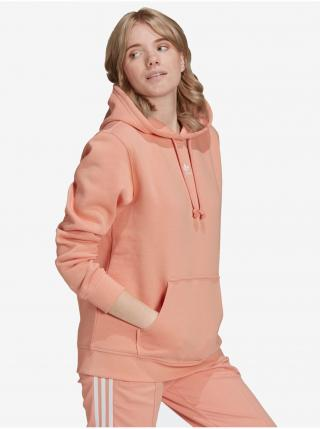 Mikiny pre ženy adidas Originals - ružová, oranžová dámské XS