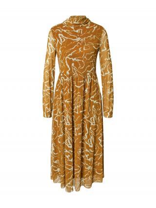 MINE TO FIVE Šaty  olivová / biela dámské 36