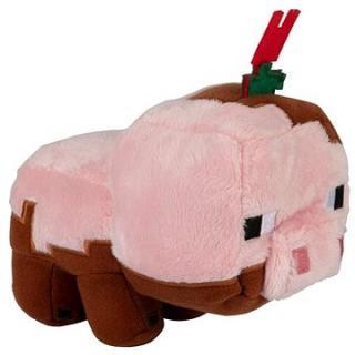 Minecraft Earth Muddy Pig Plush