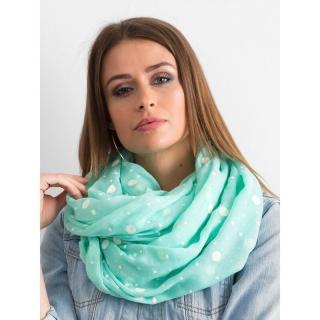 Mint polka dot scarf dámské Neurčeno One size