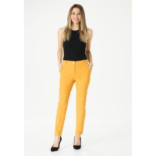 MiR Womans Pants 259 dámské Mustard 38