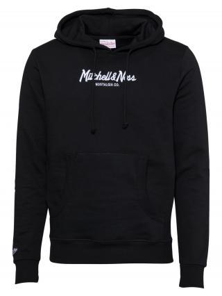 Mitchell & Ness Mikina  čierna / biela pánské M