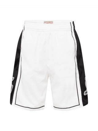 Mitchell & Ness Nohavice  biela / čierna pánské 31-32