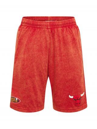 Mitchell & Ness Nohavice  červená / čierna / biela pánské 31-32