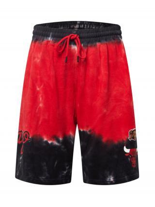 Mitchell & Ness Nohavice  červená / čierna / biela pánské 34