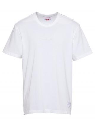 Mitchell & Ness Tričko  biela pánské M