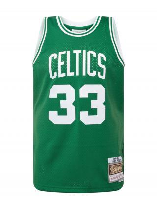 Mitchell & Ness Tričko BOSTON CELTICS  zelená / biela pánské S