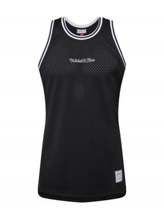 Mitchell & Ness Tričko  čierna / biela pánské M