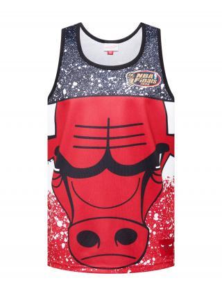 Mitchell & Ness Tričko JUMBOTRON  červená / tmavomodrá / biela pánské S