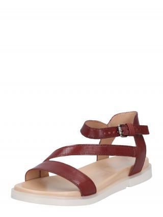 MJUS Remienkové sandále KETTA  tmavočervená dámské 40