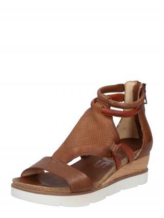 MJUS Remienkové sandále TAPASITA  koňaková dámské 40