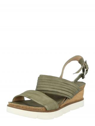 MJUS Remienkové sandále TAPASITA  zelená dámské 38