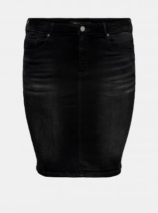 Móda pre plnoštíhle pre ženy ONLY CARMAKOMA - čierna dámské 46