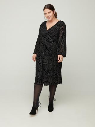 Móda pre plnoštíhle pre ženy Zizzi - čierna dámské XL-XXL