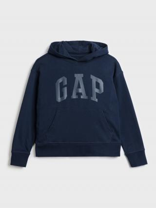 Modrá chlapčenská mikina GAP Logo 98-110