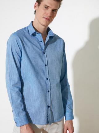 Modrá pánska košeľa Trendyol pánské L