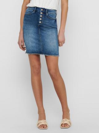 Modrá púzdrová rifľová sukňa ONLY Blush dámské M
