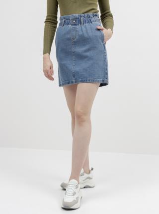 Modrá rifľová sukňa Noisy May Judo dámské XS