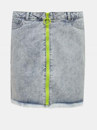 Modrá rifľová sukňa ONLY dámské M