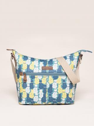Modrá vzorovaná kabelka Brakeburn dámské