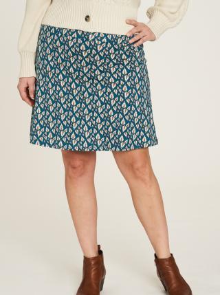 Modrá vzorovaná sukňa Tranquillo dámské XS
