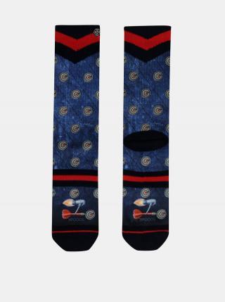 Modré pánske ponožky XPOOOS pánské modrá 43-46