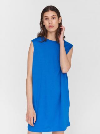 Modré šaty Noisy May Mayden dámské modrá M