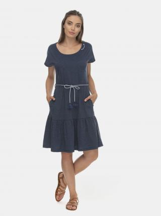 Modré šaty Ragwear - XS dámské modrá XS