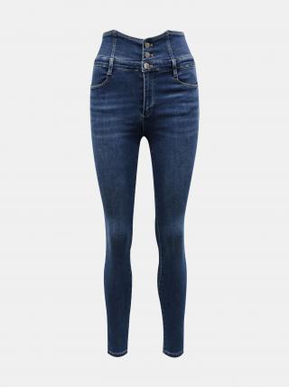 Modré skinny fit džínsy TALLY WEiJL - XS dámské modrá XS